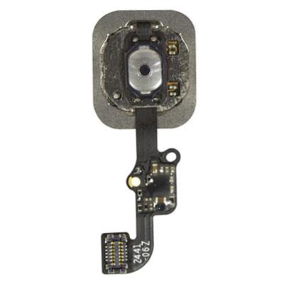 iPhone 6 & 6 Plus Κενρικό Κουμπί Home Button + Flex Cable White