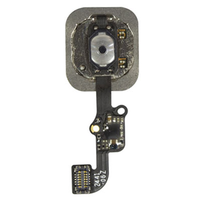 iPhone 6 & 6 Plus Κεντρικό Κουμπί Home Button + Flex Cable Black