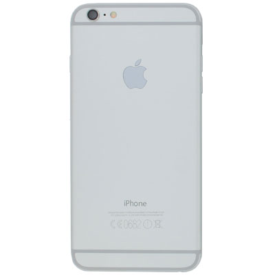 iPhone 6 plus Πίσω Καπάκι Μπαταρίας Battery Cover kit Grey