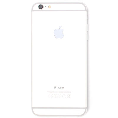 iPhone 6 plus Πίσω Καπάκι Μπαταρίας Battery Cover kit Silver