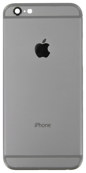 iPhone 6 Πίσω Καπάκι Μπαταρίας Πλάτη Battery Cover kit Black