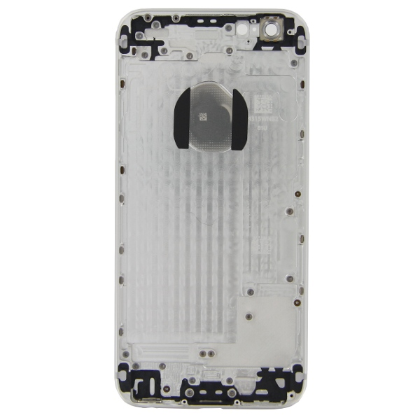 iPhone 6 Πίσω Καπάκι Μπαταρίας Battery Cover kit Silver