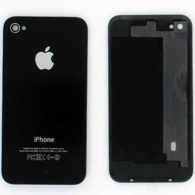 Battery cover Καπάκι Μπαταρίας Iphone 4 black