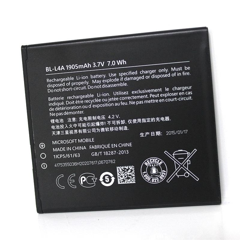 Γνήσια Original Nokia Lumia 535 RM-1089, RM-1090 Μπαταρία Battery 1905mAh Li-Ion (Bulk) BL-L4A