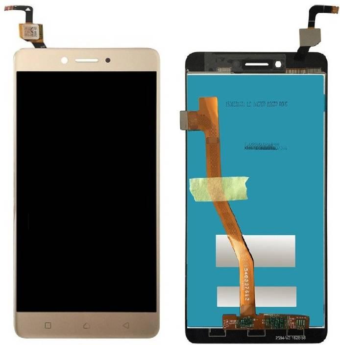 Original Lenovo K6 Note K53A48 Οθόνη LCD + Touch Screen Digitizer Μηχανισμός Οθόνης Αφής Gold