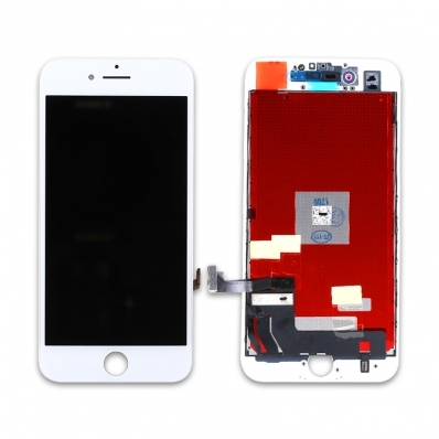 OEM HQ Iphone 8, Iphone8 Lcd Display Screen Οθόνη + Touch Screen Digitizer Μηχανισμός Αφής White (Grade AAA+++)