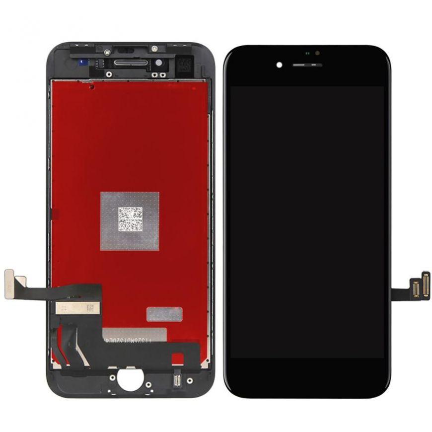 OEM HQ Iphone 8 Plus, Iphone8 Plus Lcd Display Screen Οθόνη + Touch Screen Digitizer Μηχανισμός Αφής Black (Grade AAA+++)