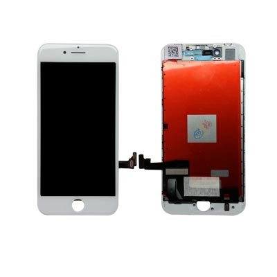 OEM HQ Iphone 8 Plus, Iphone8 Plus Lcd Display Screen Οθόνη + Touch Screen Digitizer Μηχανισμός Αφής White (Grade AAA+++)