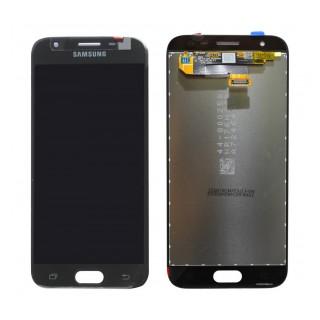 Γνήσια Original Samsung J3 2017 J330 SM-J330F Οθόνη LCD + Touch Screen Μηχανισμός Αφής GH96-10969A (Service Pack By Samsung) Black