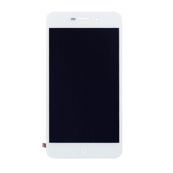Γνήσιο Original ZTE Blade L5 LCD Display Screen Οθόνη + Touch Screen Digitizer Μηχανισμός Αφής + Πλαίσιο Frame White