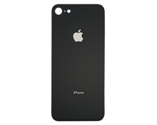 HQ OEM Apple iPhone 8, Iphone8 Battery Cover Πίσω Καπάκι Μπαταρίας Black