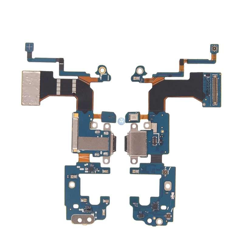 OEM HQ Samsung Galaxy S8 Plus G955 Καλωδιοταινία Φόρτισης (Type-C Usb Charging Dock Flex) με Μικρόφωνο και Πλήκρα