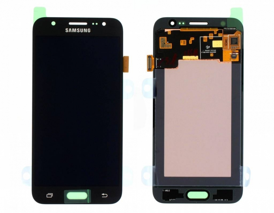 Γνήσια Original Samsung Galaxy J5 2015 SM-J500F J500 Οθόνη LCD Display Screen + Touch Screen Digitizer Μηχανισμός Αφής Black GH97-17667B