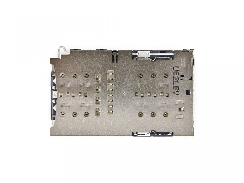 Γνήσιο Original Samsung Galaxy S7 SM-G930F, S7 Edge SM-G935F Sim Reader Θύρα Αναγνώστη Κάρτας Σίμ, 3709-001892