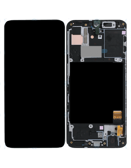 Γνήσια Original Samsung Galaxy A40 2019 (SM-A405F) Οθόνη LCD Display Screen + Touch Screen DIgitizer Μηχανισμός Αφής GH82-19672A Black