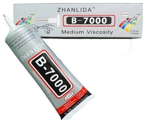 Zhanlida B7000 B-7000 glue 110ml Κόλλα Σιλικόνης Διάφανη για Συγκόλληση Οθόνης σε κινητά τηλέφωνα και Tablet