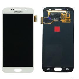 Γνήσια Original Samsung Galaxy S7 G930F G930 Οθόνη LCD + Touch Screen Μηχανισμός Αφής White GH97-18523D