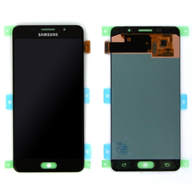 Γνήσια Original Samsung Galaxy A5 2016 SM-A510F A510 Amoled Οθόνη LCD Display + Touch Screen Μηχανισμός Αφής Black GH97-18250B