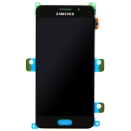 Γνήσια Original Samsung Galaxy A3 2016 SM-A310F A310 Οθόνη LCD Display + Touch Screen Μηχανισμός Αφής Black GH97-18249B