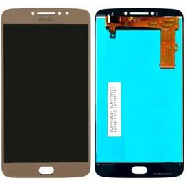 HQ OEM Motorola MOTO E4 Plus XT1770 Lcd Display Screen Οθόνη + Touch Screen Digitizer Μηχανισμός Οθόνη Αφής Gold