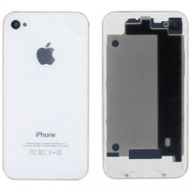 HQ OEM Iphone 4g Battery cover Καπάκι Μπαταρίας white