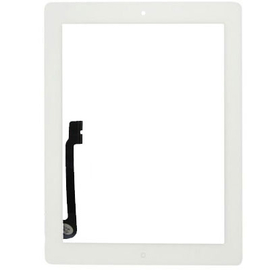 HQ OEM for iPad 3/4 Touch Screen DIgitizer Μηχανισμός Αφής Τζάμι White (Grade AAA+++)
