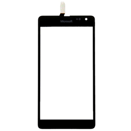 Original Microsoft Lumia 535 Touch Screen DIgitizer Τζάμι Μηχανισμός Αφής Black