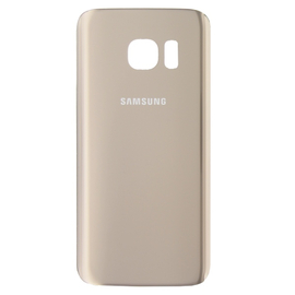 OEM HQ Samsung Galaxy S7 G930F SM-G930F G930 Battery cover Καπάκι Μπαταρίας Gold (Grade AAA+++)