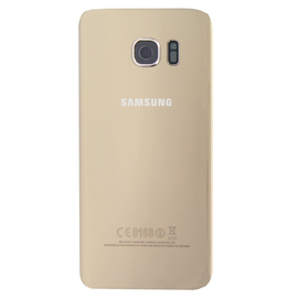 Original Samsung G935F Galaxy S7 Edge Battery cover Καπάκι Μπαταρίας Gold GH82-11346C