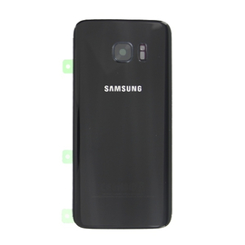 Samsung G935F Galaxy S7 Battery cover black Καπάκι Μπαταρίας GH82-11346A