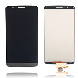 HQ Lg G3 D855 D850 LCD Display Screen Οθόνη + Touch Screen Digitizer Μηχανισμός Αφής Titan Grey