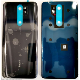 Γνήσιο Original Xiaomi Redmi Note 8 Pro Back Rear Battery Cover Καπάκι Κάλυμμα Μπαταρίας Mineral Grey (Service Pack By Xiaomi)