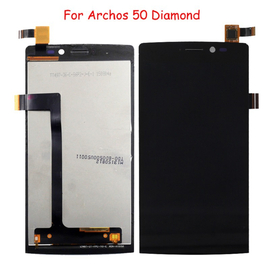 Γνήσια Original Archos 50 Diamond Οθόνη LCD Screen + Touch Screen Μηχανισμός Αφής Black