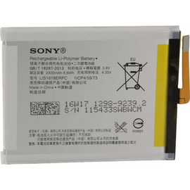 Γνήσια Original Sony Xperia F3111 Xperia XA, F3112 XA Dual, Sony F3311 Xperia E5 Μπαταρία Battery 2300mAh Li-Pol (Service Pack) 1298-9239 / 1308-5721/ LIS1618ERPC