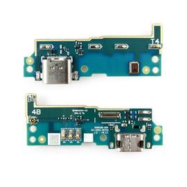 Γνήσια Original Sony Xperia G3311 G3312 G3313 Xperia L1 Micro Usb Dock Charge Connector flex Καλωδιοταινία φόρτισης + Microphone Μικρόφωνο A/8CS-81000-0004