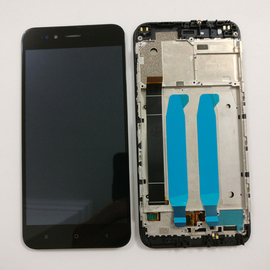 Γνήσια Original Xiaomi Mi 5X/Mi A1 MiA1 LCD Display Οθόνη + Touch Screen Digitizer Μηχανισμός Αφής + Frame Πλαίσιο Black