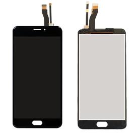 Γνήσιο Original Meizu M5 Note LCD Display Screen Οθόνη + Touch Screen Digitizer Μηχανισμός Αφής Black