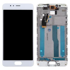 Γνήσιο Original Meizu M5s / Meilan 5s LCD Display Screen Οθόνη + Touch Screen Digitizer Μηχανισμός Αφής + Frame Πλαίσιο White