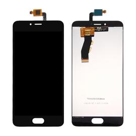 OEM HQ Meizu M5s / Meilan 5s M612H M612M LCD Display Screen Οθόνη + Touch Screen Digitizer Μηχανισμός Αφής Black