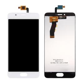 OEM HQ Meizu M5s / Meilan 5s M612H M612M LCD Display Screen Οθόνη + Touch Screen Digitizer Μηχανισμός Αφής White (GRADE AAA+++)