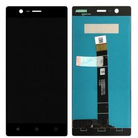 OEM HQ Nokia 3, Nokia3 (TA-1020) Dual Sim (TA-1032) LCD Display Screen Οθόνη + Touch Screen Digitizer Μηχανισμός Αφής Black (Grade AAA+++)