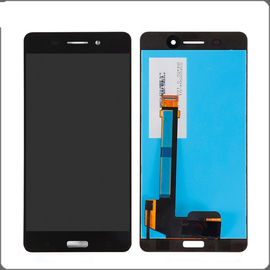 OEM HQ Nokia 6 (TA-1033) Dual Sim (TA-1021) LCD Display Screen Οθόνη + Touch Screen Digitizer Μηχανισμός Αφής Black (Grade AAA+++)