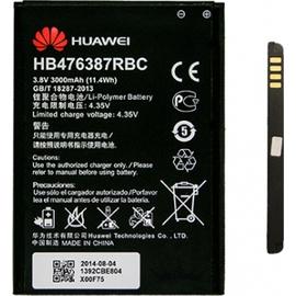 Original Huawei Ascend G750, Honor 3X HB476387RBC Μπαταρία Battery 3000mAh Li-Pol (Bulk) (Grade AAA+++)