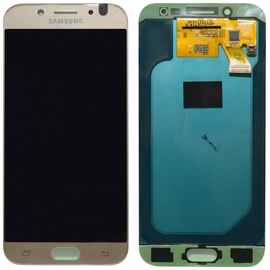 Γνήσια Original Samsung J5 2017 J530 SM-J530F Super Amoled Οθόνη LCD Display Screen + Touch Screen Digitizer Μηχανισμός Αφής GH97-20738C Gold