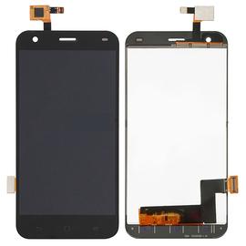 Γνήσια Original ZTE S6 Flex LCD Display Screen Οθόνη + Touch Screen Digitizer Μηχανισμός Αφής Black (Grade AAA+++)