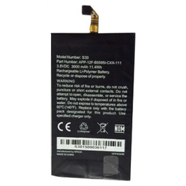 Γνήσιο Original CATERPILLAR CAT S30 Μπαταρία Battery 3000mAh APP-12F-B55951-CXX-111 (Grade A)
