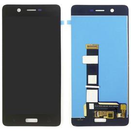 OEM HQ Nokia 5 (TA-1024) Dual Sim (TA-1053) LCD Display Screen Οθόνη + Touch Screen Digitizer Μηχανισμός Αφής Black (GRADE AAA)