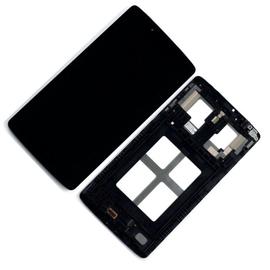 OEM HQ Lg G Tablet Pad 8.0 V480 V490 Lcd Display Screen Οθόνη + Touch Screen DIgitizer Μηχανισμός Αφής + Πλαίσιο Σασί Frame Black (Grade AAA+++)