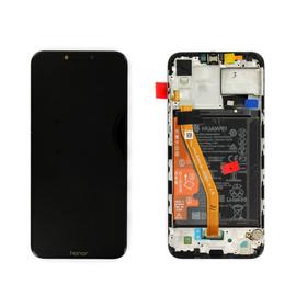 Γνήσιο Original Huawei Honor PLAY 2018 (COR-L29, COR-L09, COR-AL00, COR-AL10) Lcd Screen Display Οθόνη + Touch Screen Digitizer Μηχανισμός Αφής + Πλαίσιο Frame Bezel  02351YXV Black (Service Pack By Huawei)
