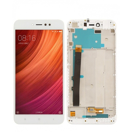 OEM HQ  Xiaomi Redmi Note 5A Prime Lcd Display Screen Οθόνη + Touch Screen Digitizer Μηχανισμός Αφής+ Frame Πλαίσιο White (Grade AAA+++)
